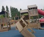 Pirate theme play park