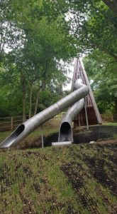 Tunnel slides at Stonor park