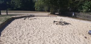 Sandpit at wellington country park