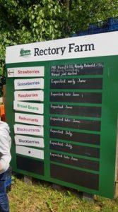 Rectory farm produce
