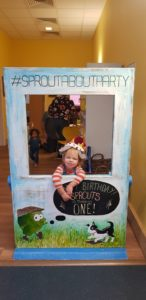 Sprouts barn party