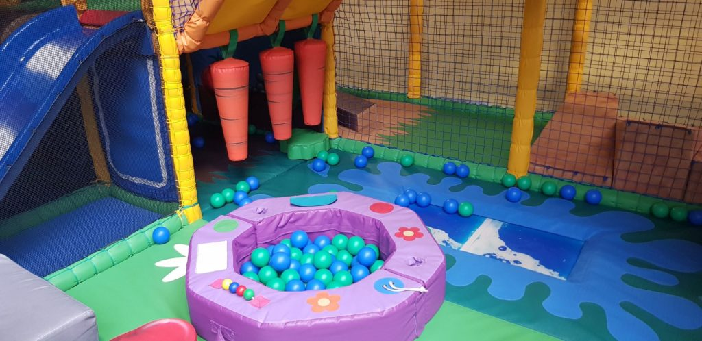 Toddler area soft play