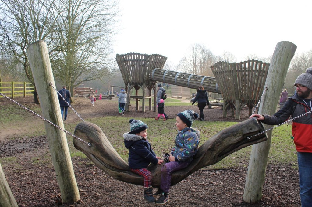 Dinton Pastures play area