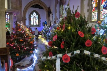 St Edburg's Christmas Tree Festival