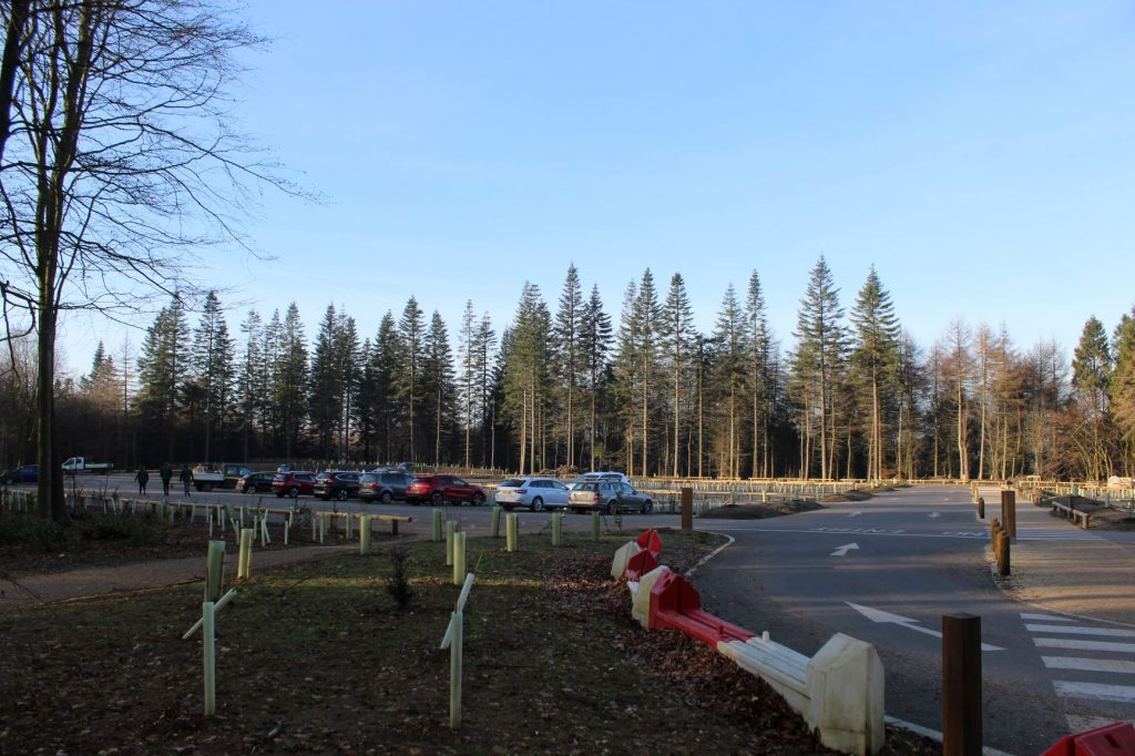 Wendover woods new car park