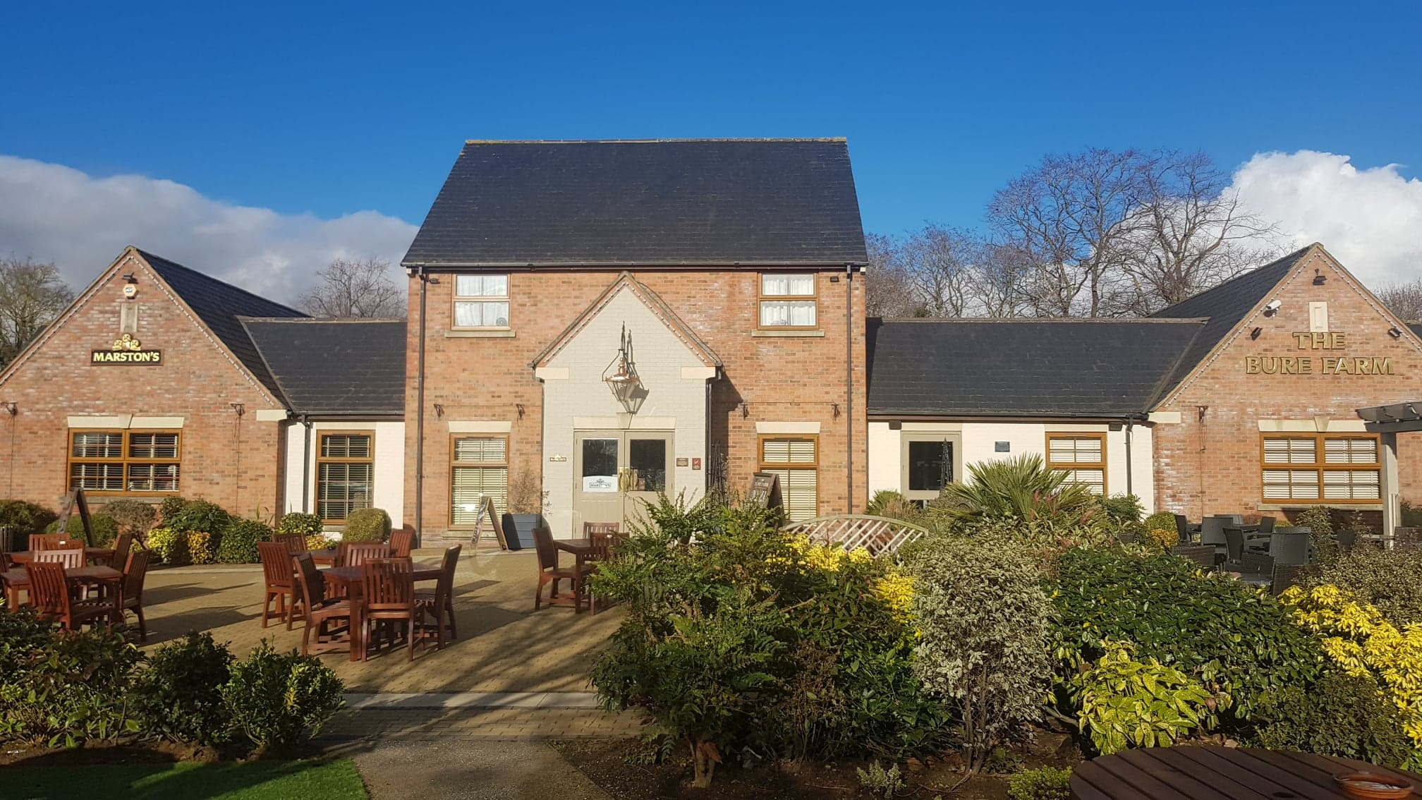 Bure Farm Pub Review Bicester The Family Ticket