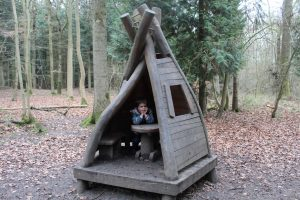 Salcey forest play huts