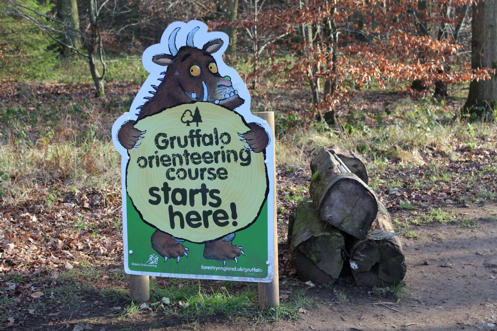 Wendover woods Gruffalo trail