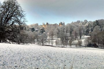 Waddesdon in the snow