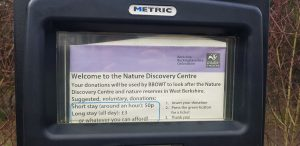 Nature discovery centre pay and display