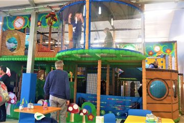 Blue diamond soft play