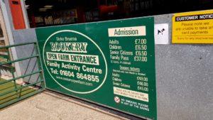 Rookery farm prices