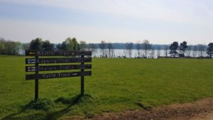 Brixworth country park trail
