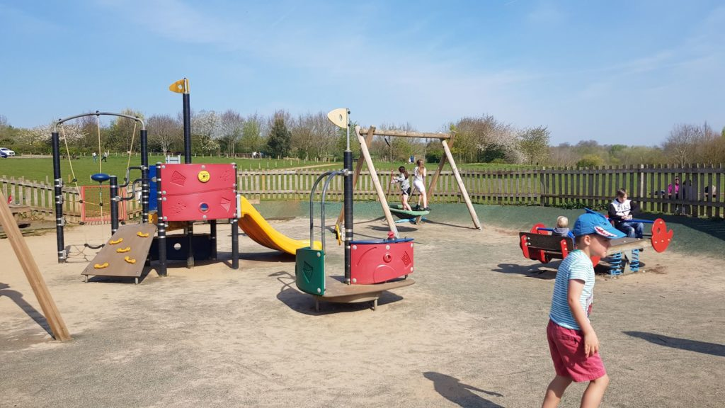 Brixworth country park play area