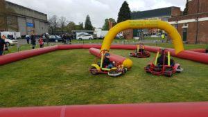 Go Karts at sunday scramble