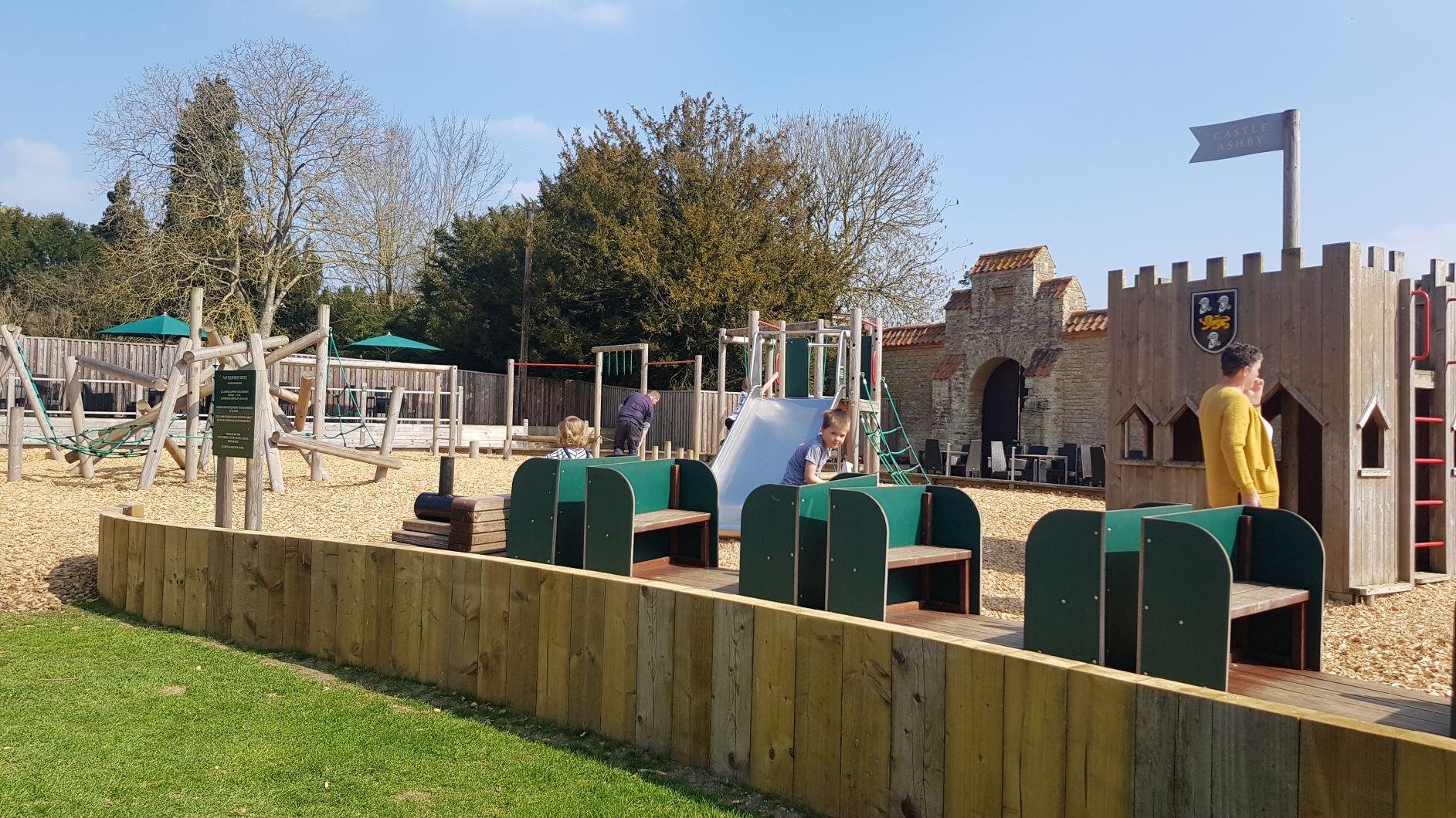 Castle Ashby Gardens play park