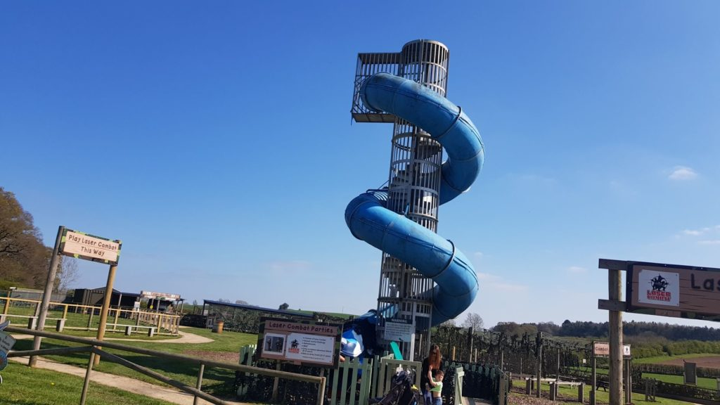 Giant slide at Hatton