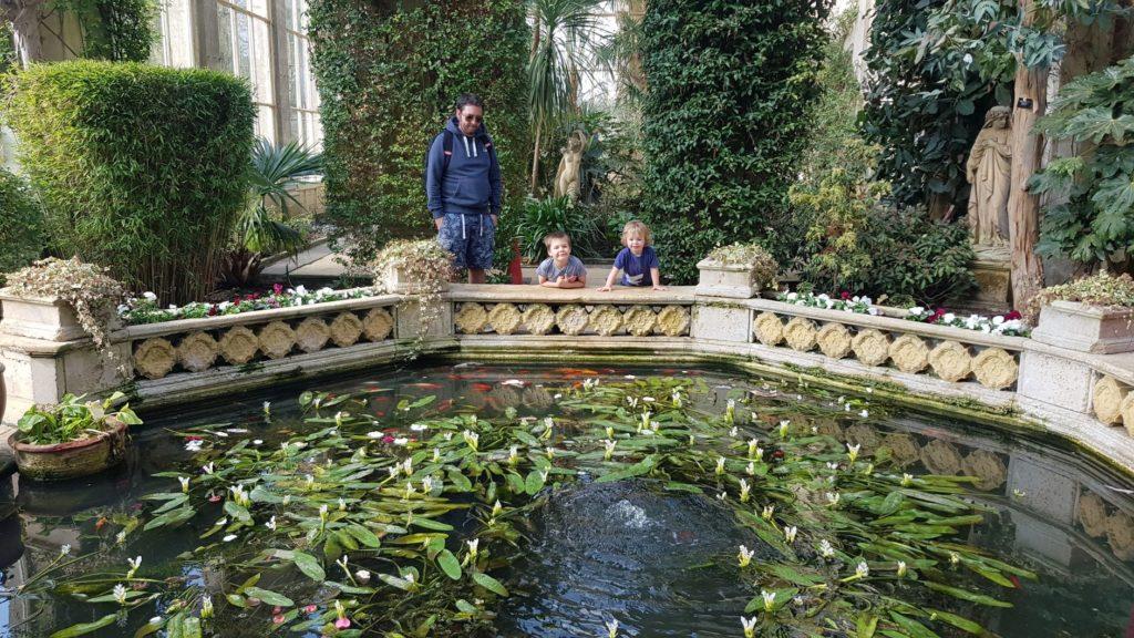 Castle Ashby gardens orangery
