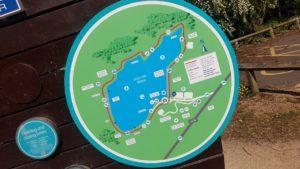 Draycote water map