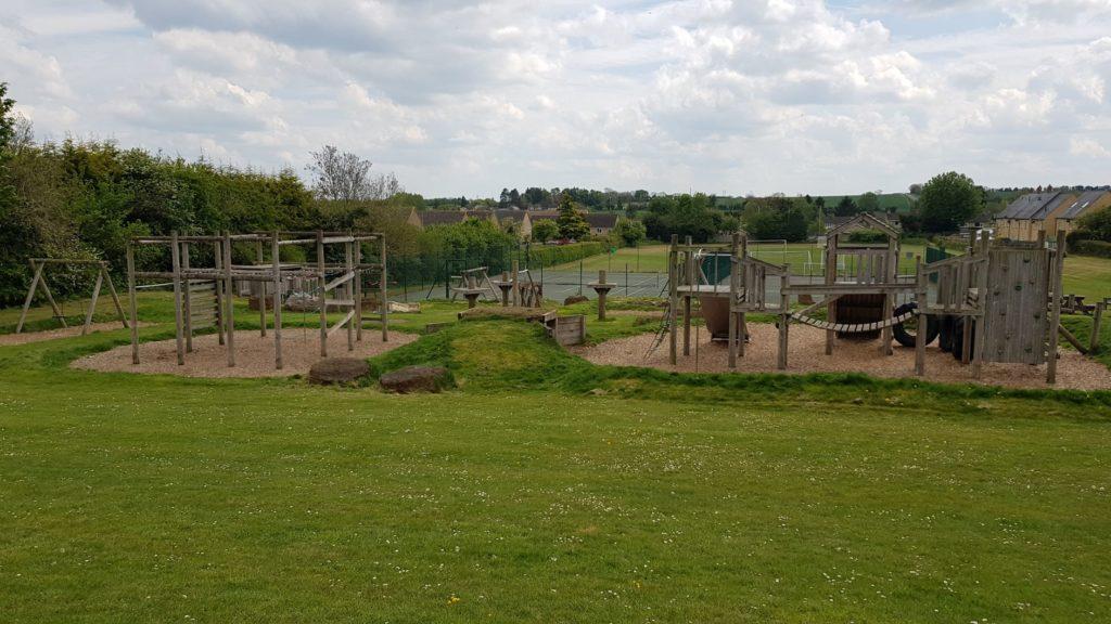 The Bartons play park
