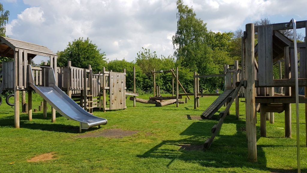 The main frame in Charlbury Play park