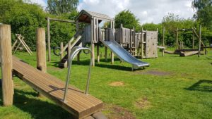 Large play frame Charlbury