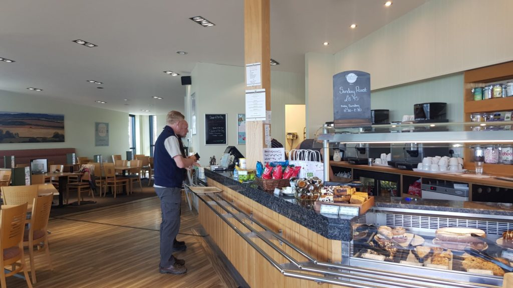 Cafe at Draycote water