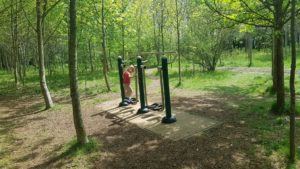 outdoor gym the old shed