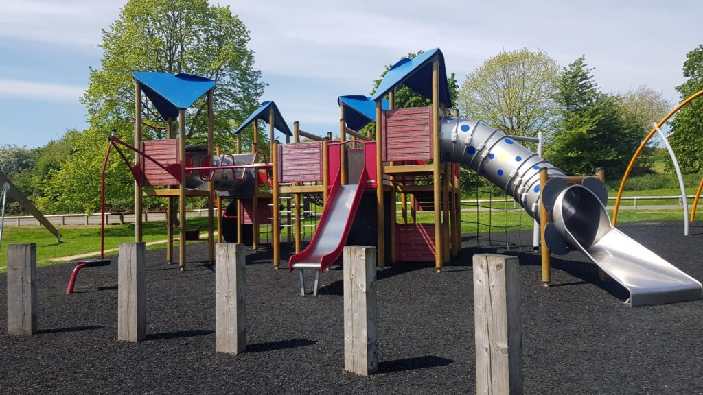 Draycote water playground