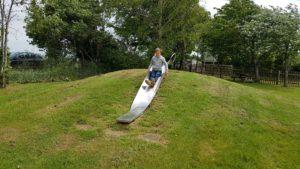 Forest hill village play park slide