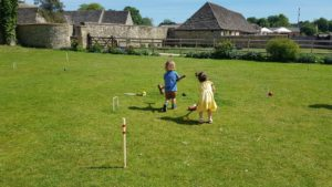 Croquet at cogges