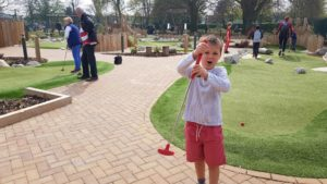 Mini golf the leys witney
