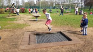 Witney park trampoline