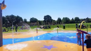 Dunstable waters jets splash park
