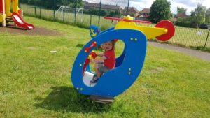 Helcopter Great Milton Play park