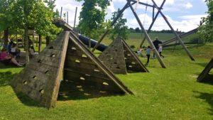 Tepees at Blewbury play space