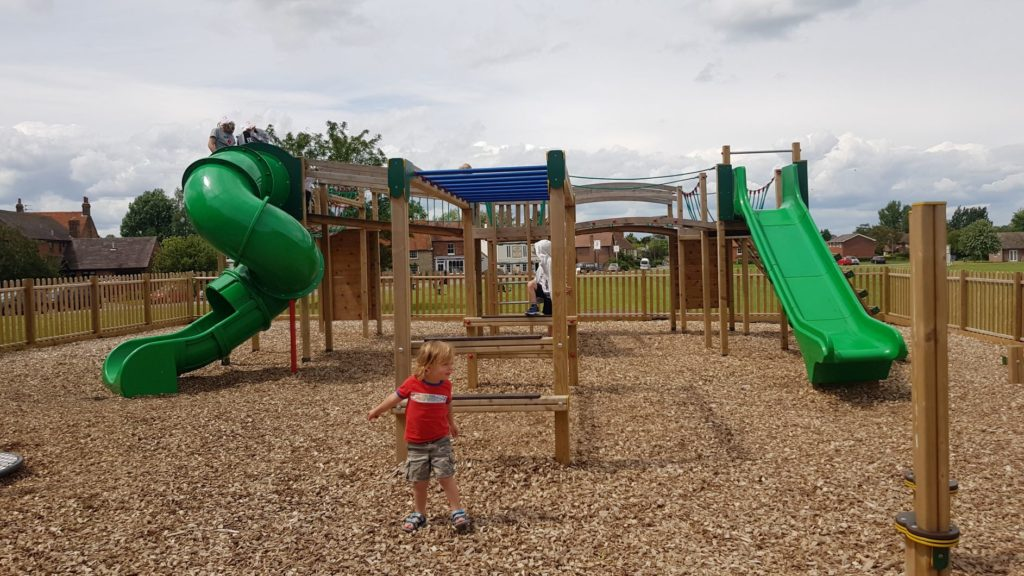 Large play frame