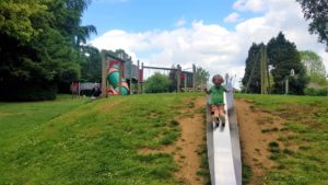 Slide at hook Norton park