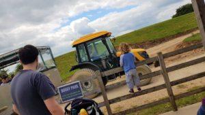 Cotswold tractor safari