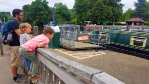 Sandford Locks Oxfordshire