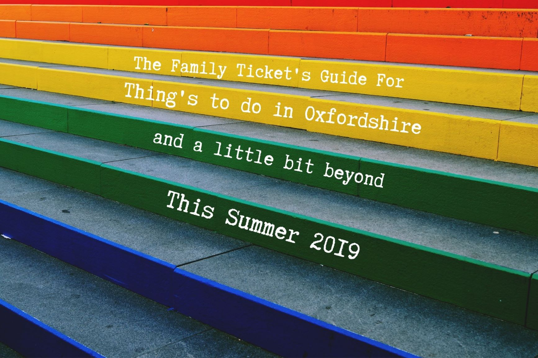 Summer Whats On Guide 2019