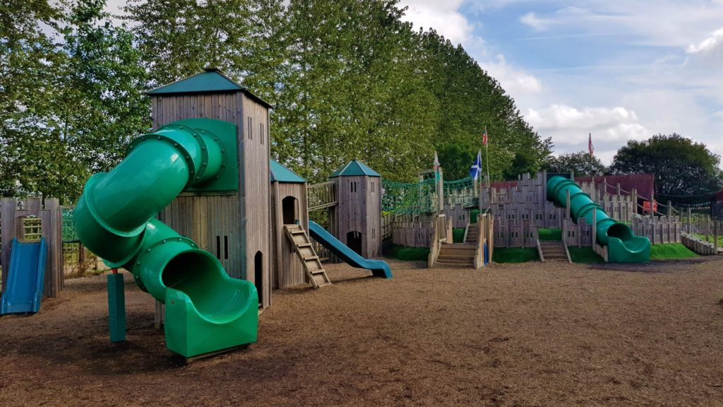 West lodge farm park play area