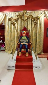 The story Museum Oxford Talking throne