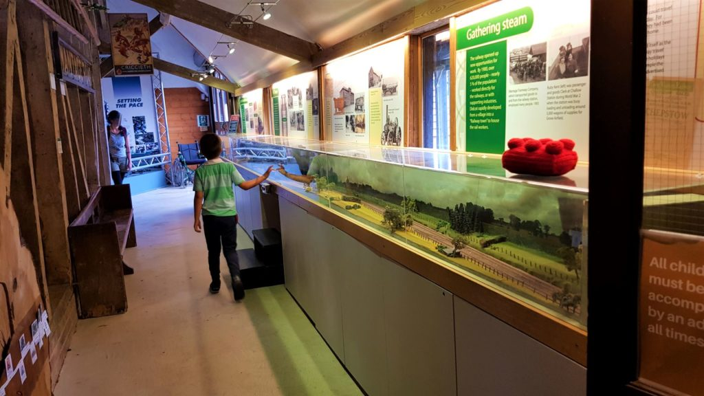 Model train Vale and downland