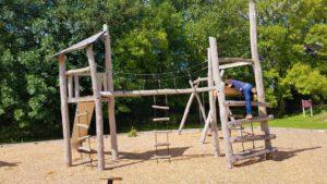 Climbing frame in Upton