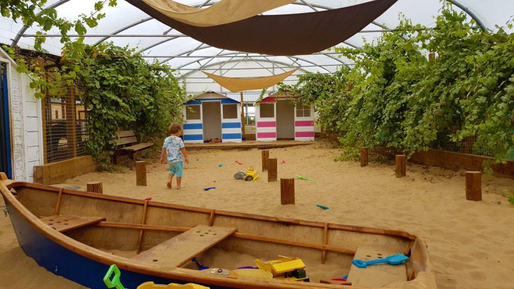 Indoor sandpit mini meadows farm