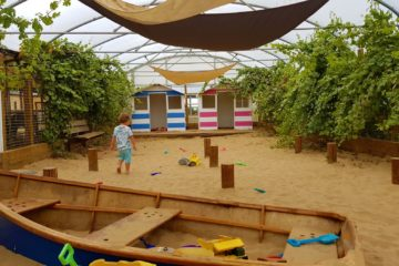 Indoor sandpit mini meadows farm