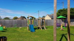 Toddler play frame in stonesfield play park