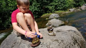 Rock stacking