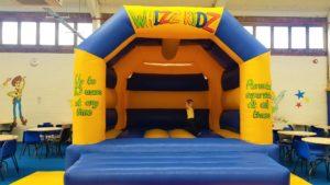 Whizzkidz bouncy castle
